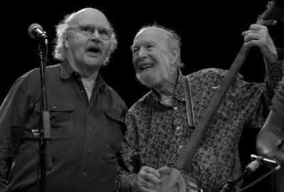 Tom Paxton and Pete Seeger - 3-31-16