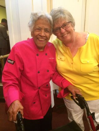 Leah Chase and Nancy