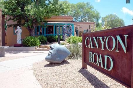Santa Fe - Canyon-Road