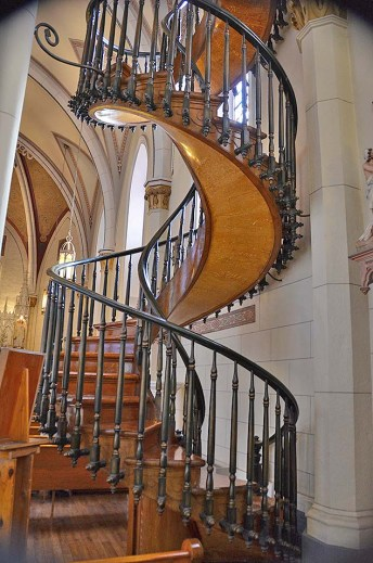 Santa Fe - staircase - 9-1-18